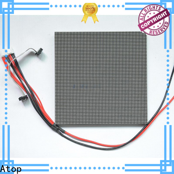 Atop online 12v led module with relaible quality for indoor rental led display