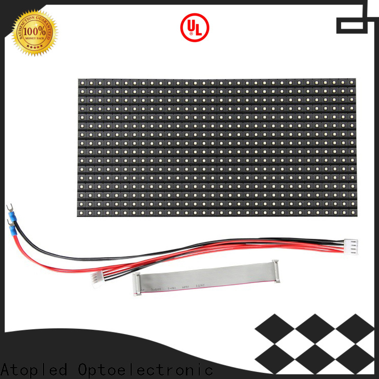Atop high quality led display module for indoor rental led display