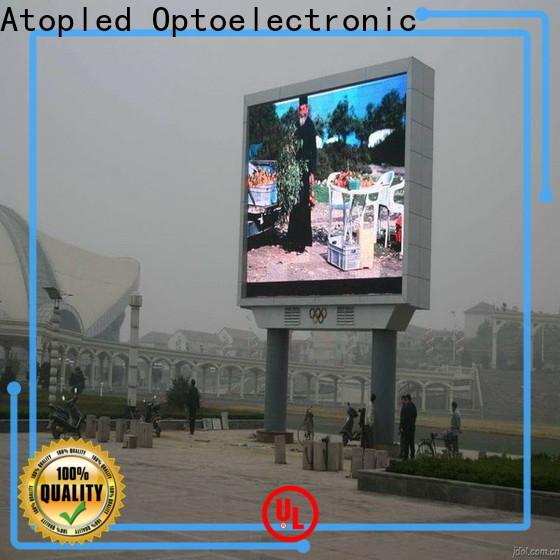 reasonable digital billboard installation to meet different need for advertising