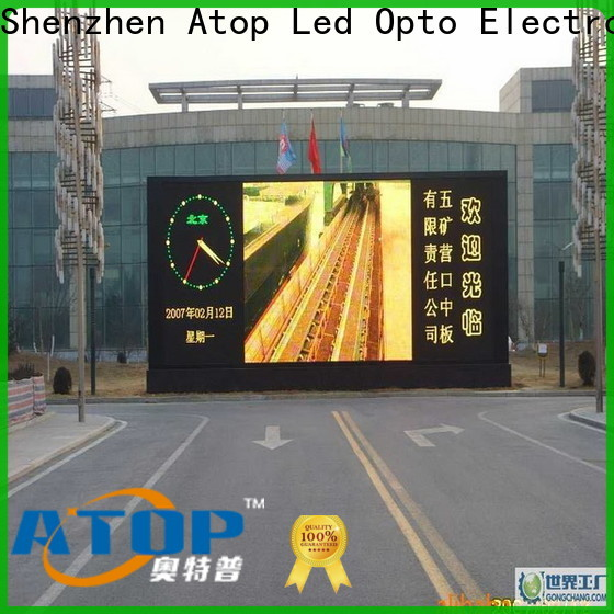 affordable outdoor led display screen price screen with relaible quality for advertising