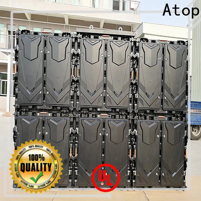 clear led video wall panels outdoor for advertising