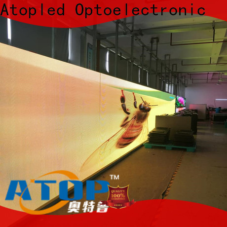 Atop priced-low energy saving led screen with best color uniformity in market