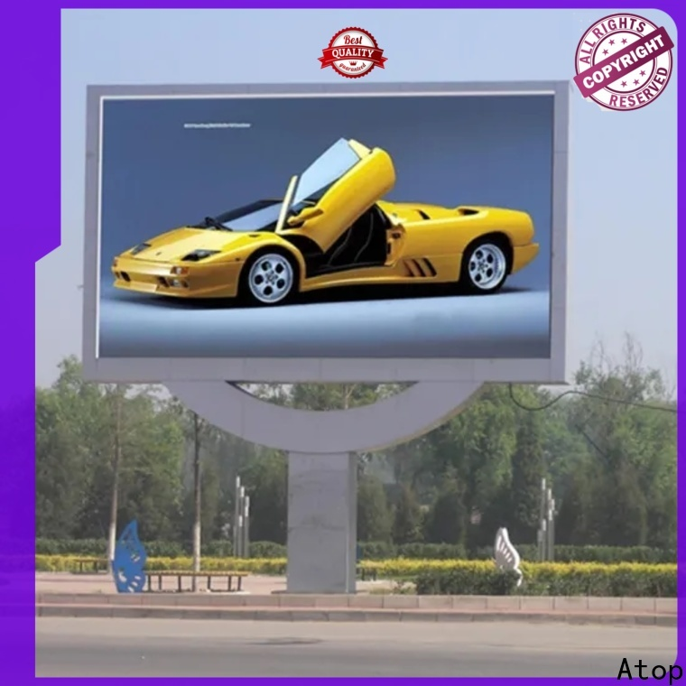 Atop cost-effective led screen rental prices with high precision for company advertising