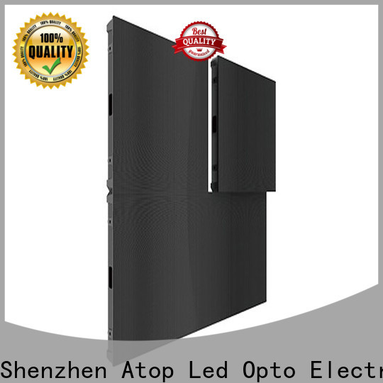Atop best small pitch led display easy maintenance in market