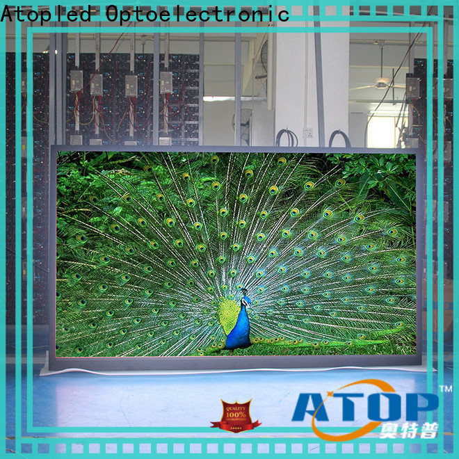 priced-low wall screen brightness easy assembling for LED screen