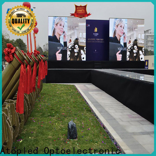 Atop lightweight led billboard easy assembling for your led display applications