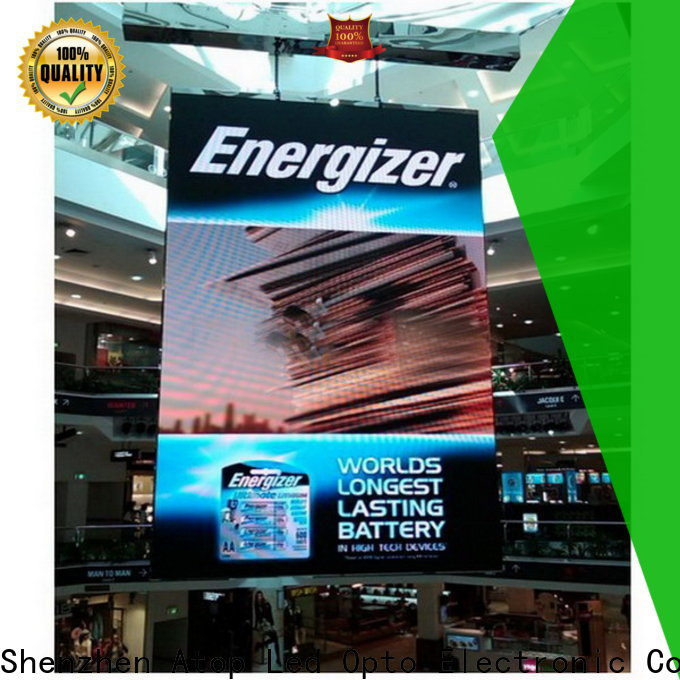 Atop custom rental led display screen with high-quality for LED screen