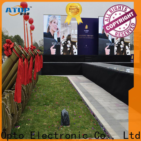 high quality outdoor led wall outdoor easy maintenance for company advertising