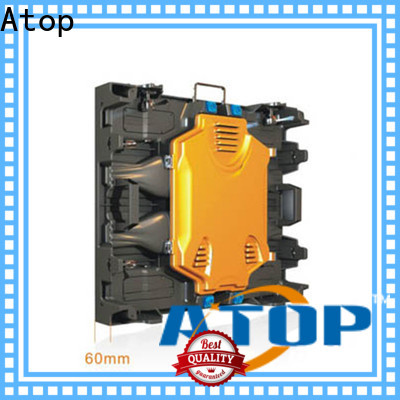 Atop full advertising led display easy maintenance in market