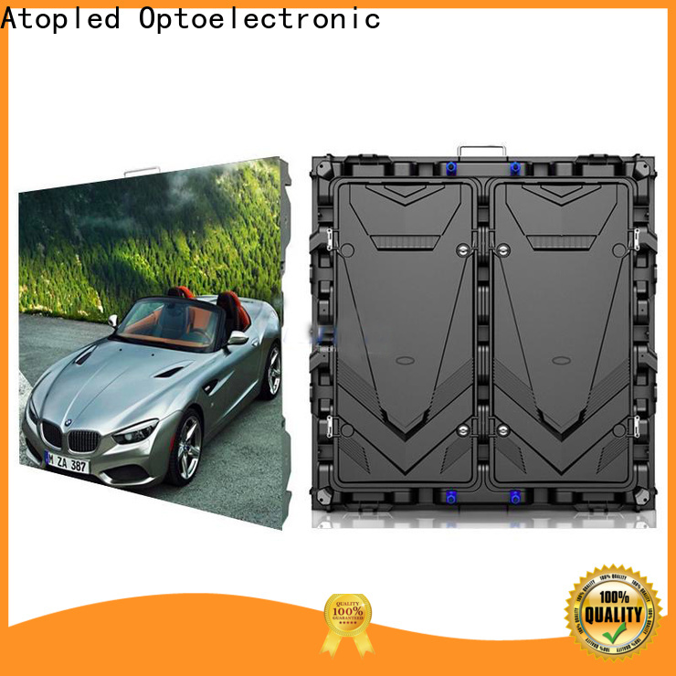 Atop advertising led panel with best color uniformity for indoor led display