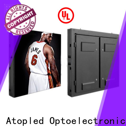 Atop screen outdoor fixed led display to meet different need for both outdoor and indoor