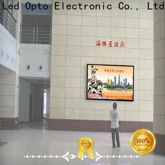 Atop indoor large led screen with relaible quality for advertising