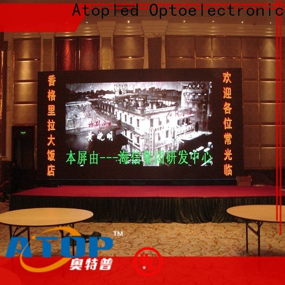 Atop good consistency advertising led sign with best color uniformity for advertising
