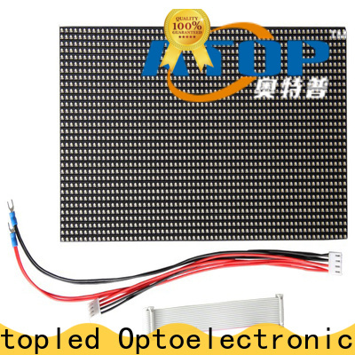 Atop customized led display module easy operation for indoor rental led display