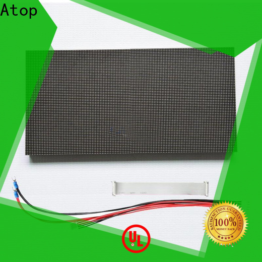Atop online round led module easy operation for indoor rental led display