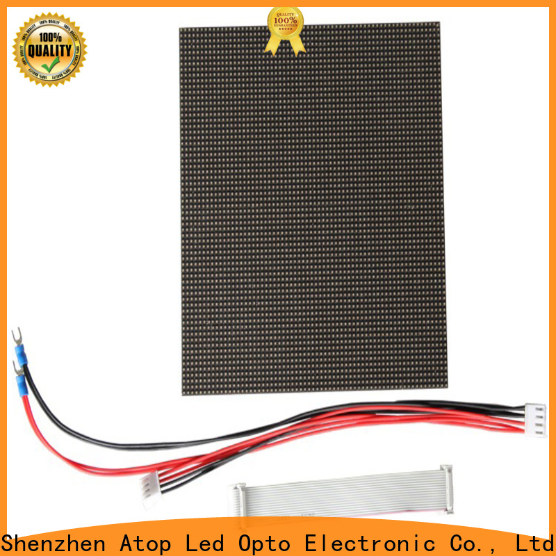 customized round led module full easy operation for indoor rental led display