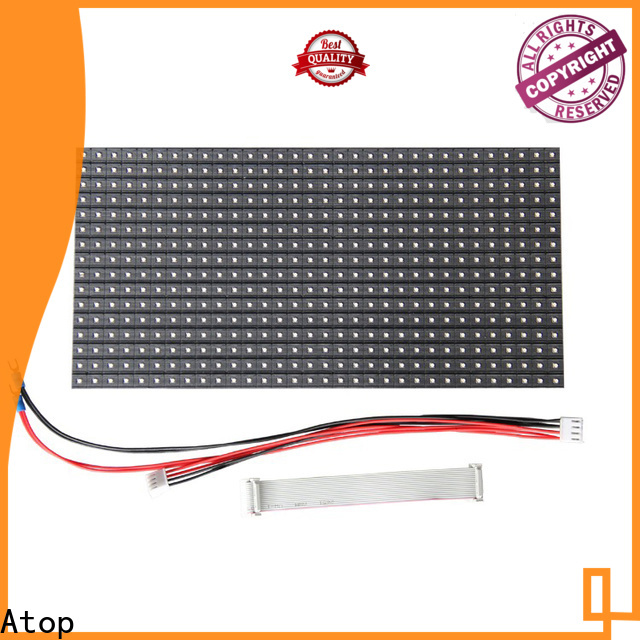 Atop size indoor led module for indoor rental led display