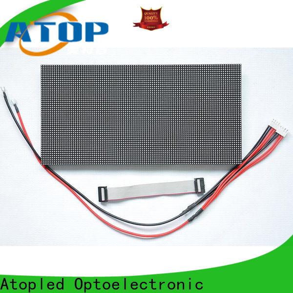 Atop display led module lights with relaible quality for indoor rental led display