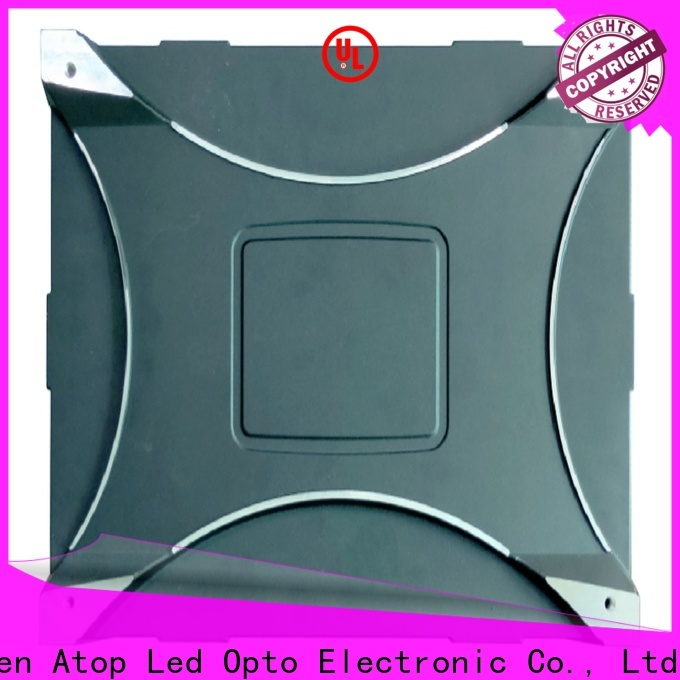 Atop led large led display with reliable driving IC for advertising