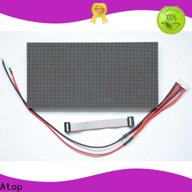 Atop customized led module 12v with relaible quality for advertising