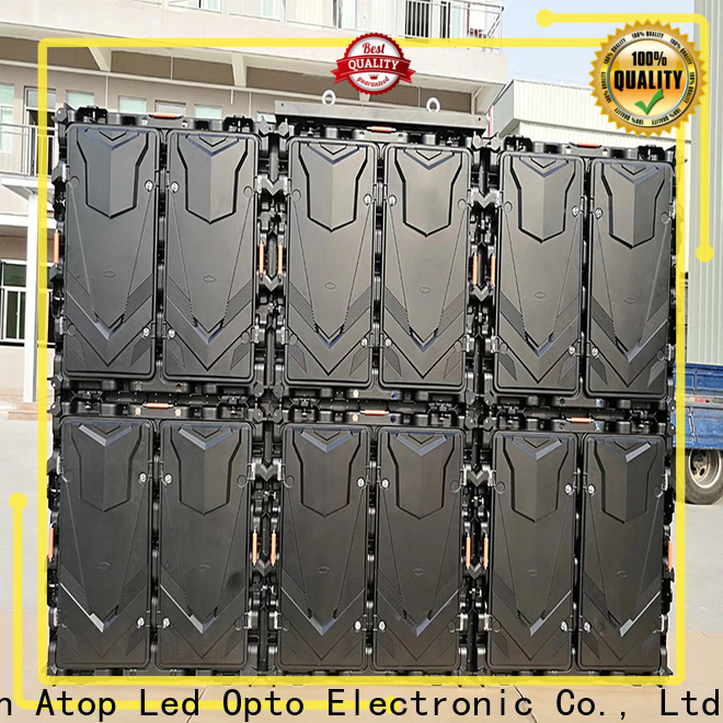 Atop waterproof p5 led panel in market、