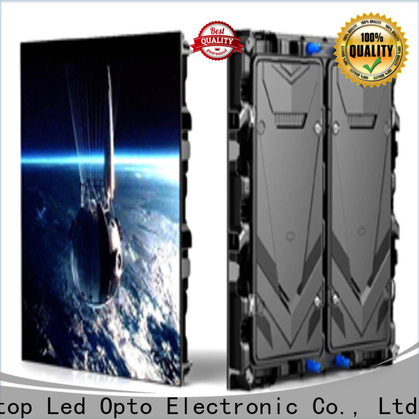 online outdoor fixed led display installation in market、