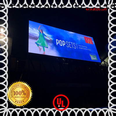 Atop excellent energy saving led screen with reliable quality for both outdoor and indoor