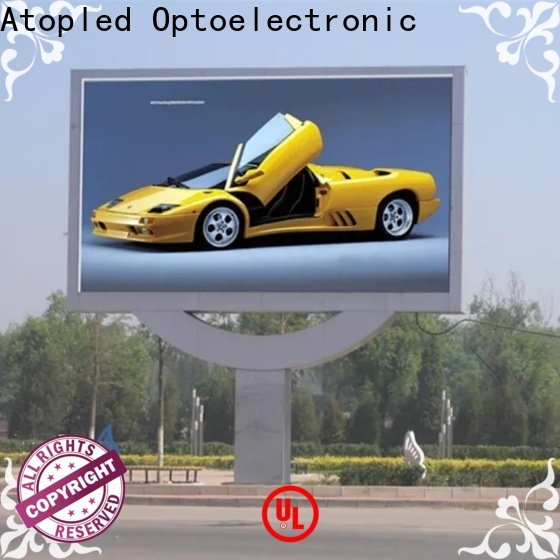 Atop big led screen price with best color uniformity in market