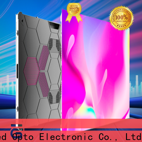 Atop hd led video wall with high precision for company advertising