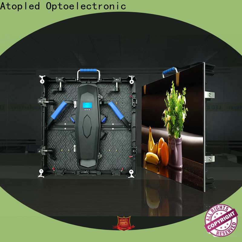 Atop cost-effective display screen easy assembling for indoor rental led display