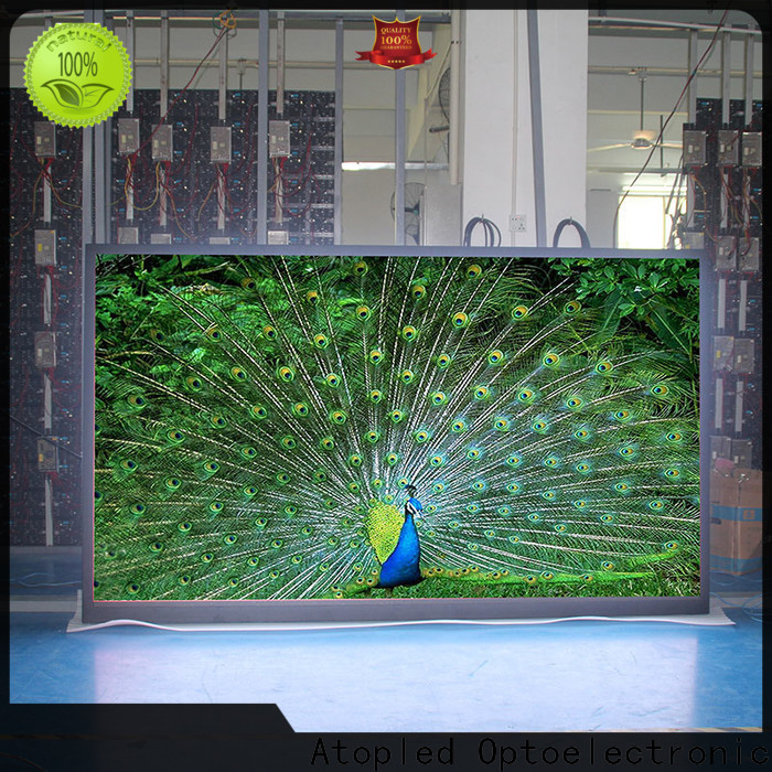 Atop high-quality 2x2 video wall in strict accordance with relevant national standards for LED screen