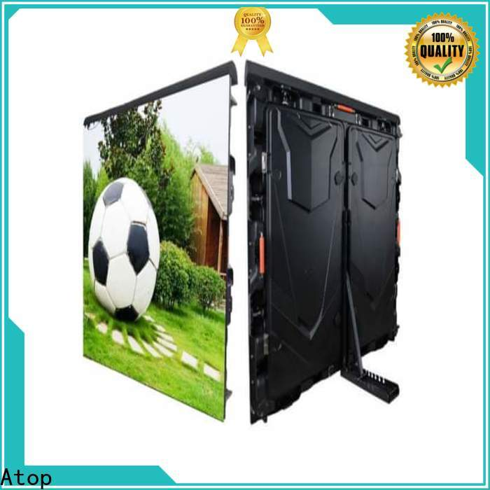 Atop perimeter led display with the stringent quality standards for football field