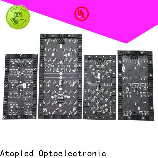 Atop screen flexible led video screen easy to assemble for exhibition