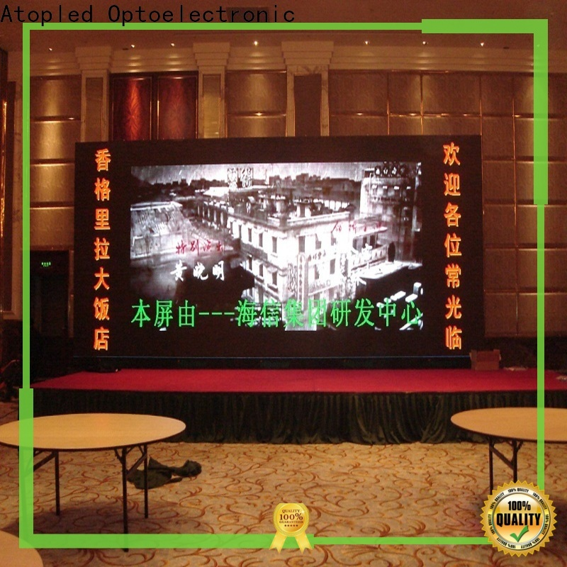 Atop customized video wall 2x2 with best color uniformity for advertising