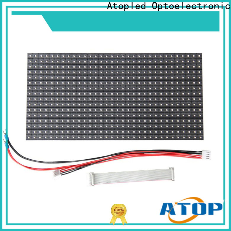 Atop customized led module 12v for indoor rental led display