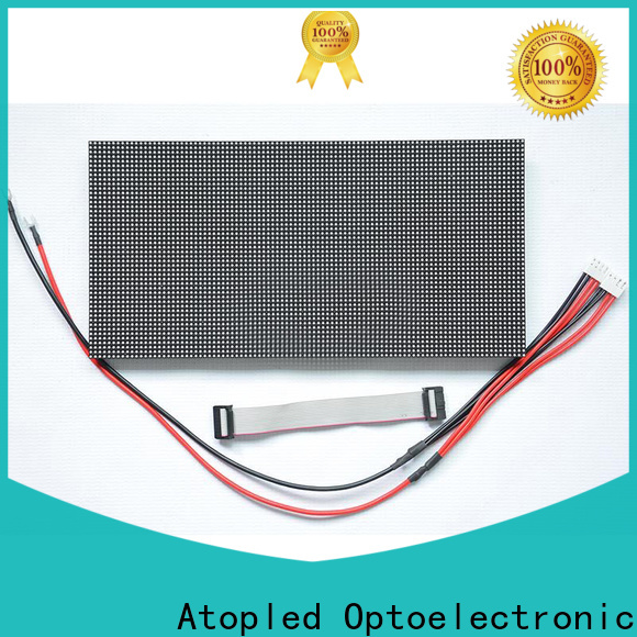 online round led module size with relaible quality for indoor rental led display
