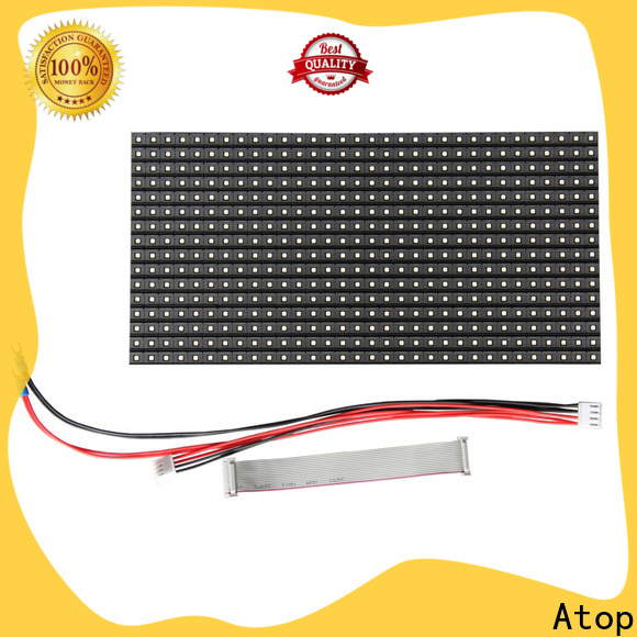 Atop high quality mini led module for advertising