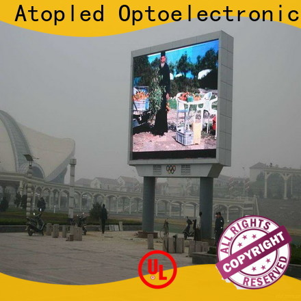 Atop waterproof p5 led screen for advertising