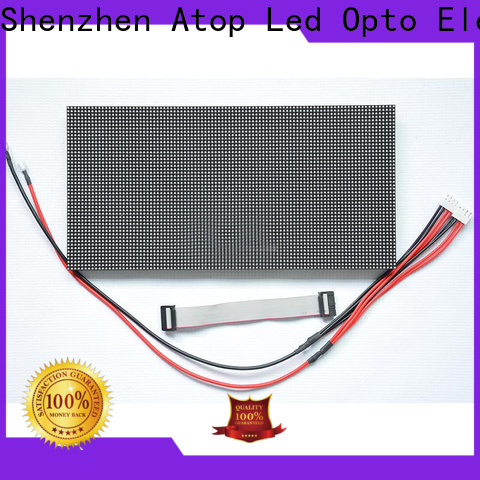 online round led module indoor to meet different need for indoor rental led display