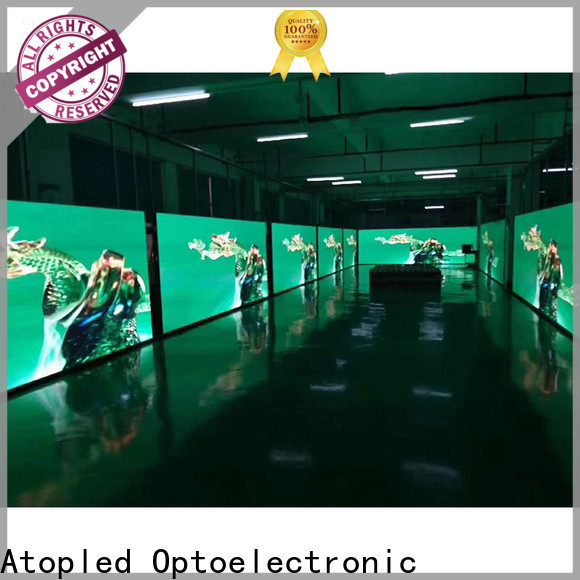Atop definition indoor led panel easy assembling for indoor rental led display
