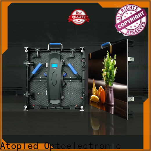 Atop color rental led display with high-quality for indoor rental led display