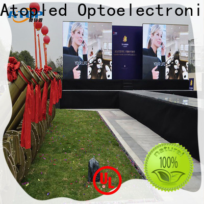 Atop screen rental led screen with high precision for both outdoor and indoor