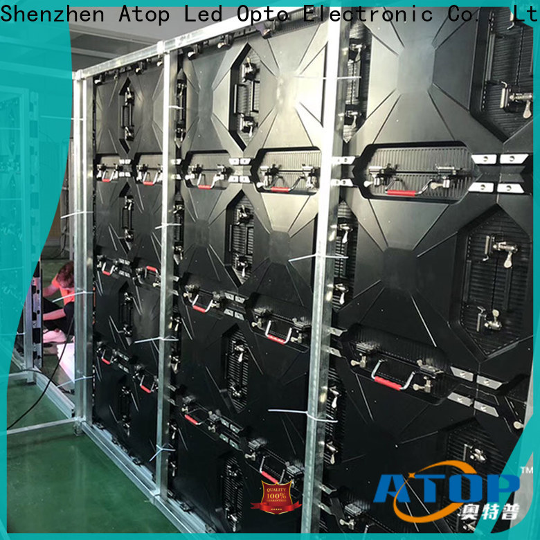 priced-low led screen rental stage easy assembling for indoor rental led display