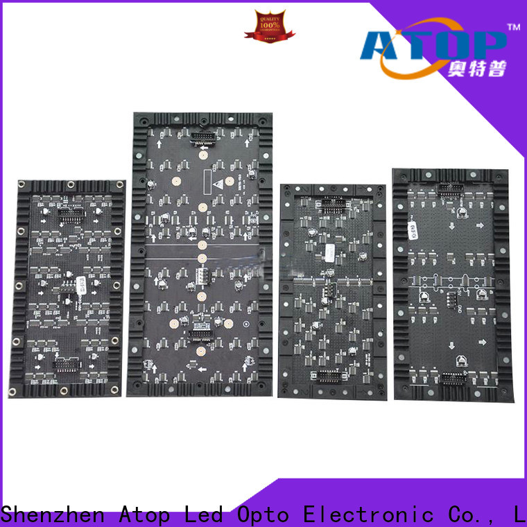 high quality flexible led display screen creative easy operation for shopping mall