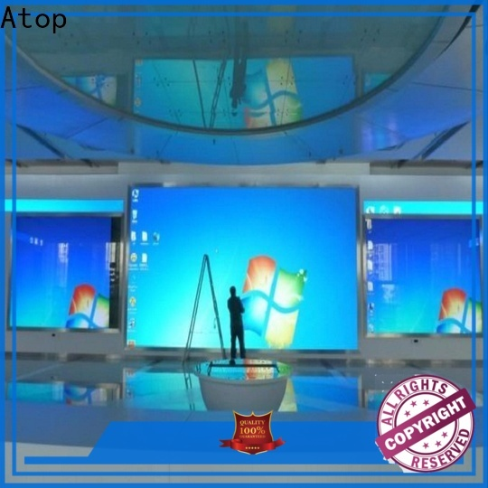 Atop customized digital display screen with best color uniformity for indoor led display