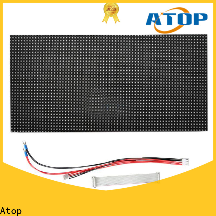 customized led module lights panel easy operation for indoor rental led display