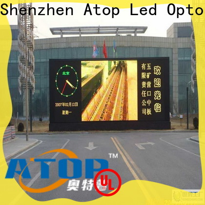 Atop screen p4 led screen with relaible quality for display