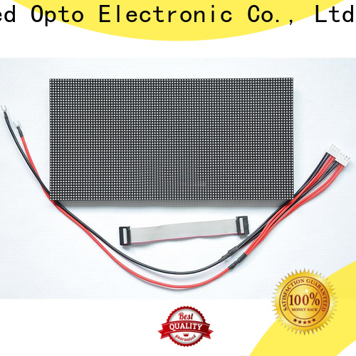 customized waterproof led module screen for advertising