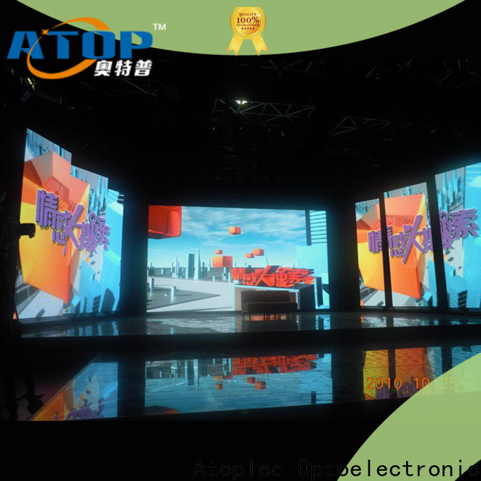 Atop priced-low stage led display with high-quality