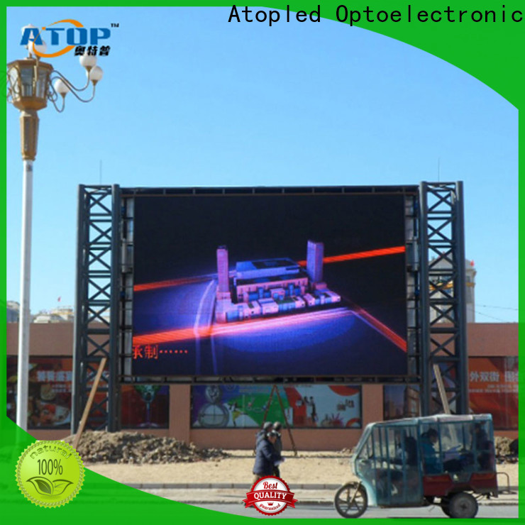 Atop universality led panel video with reliable quality for both outdoor and indoor